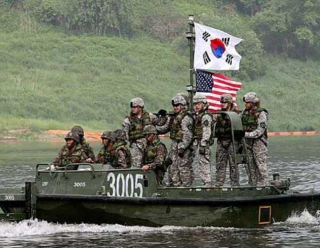 US, South Korea Start Joint Military Exercise