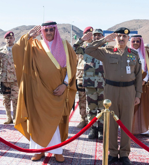 Saudi Crown Prince Attends Closing Ceremony of 'Watan 87' Exercise