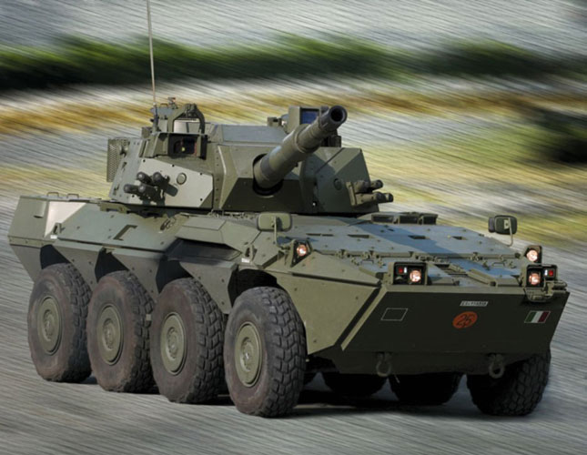 Leonardo-Finmeccanica's Land Defense Systems at Eurosatory