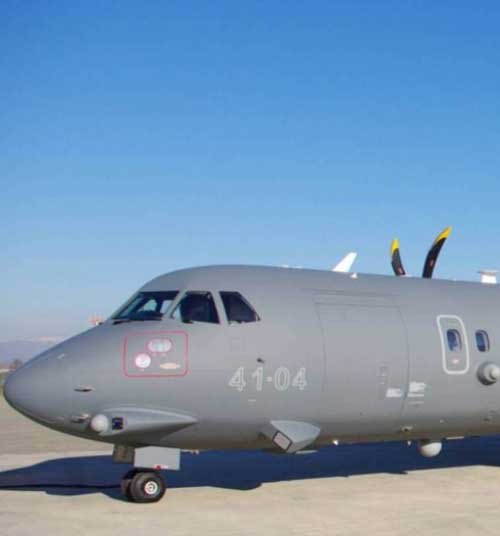 Lenordo's ATR 72MP Makes First Appearance at LIMA