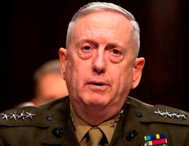 General James Mattis Named U.S. Secretary of Defense