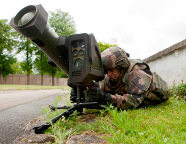 MBDA Presents MMP Missile Integrated on 4 Combat Platforms