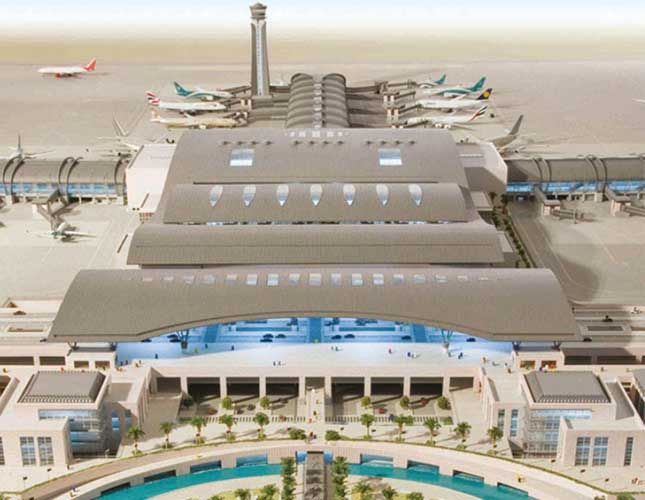 Work on Schedule at New Muscat International Airport