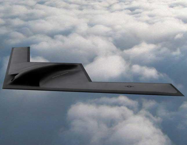 """New B-21 Stealth Bomber Named """"The Raider"""""""