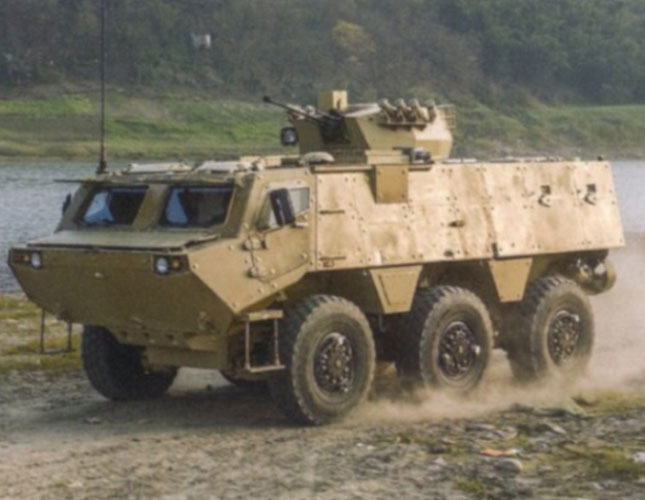 NORINCO Unveils 6x6 Mine-Resistant Armored Vehicle