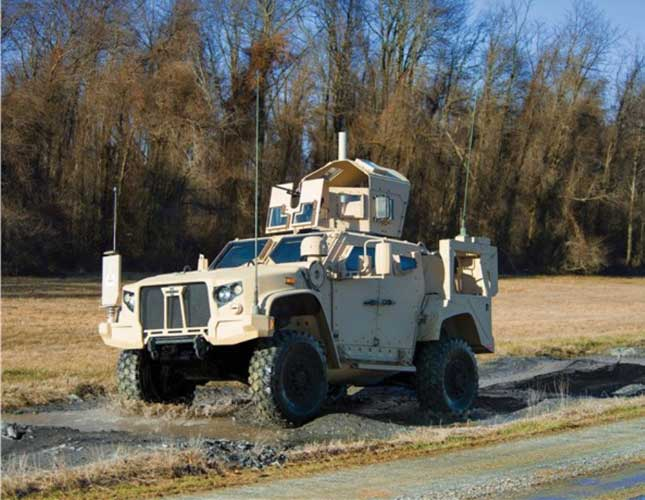 Oshkosh Features the JLTV at Eurosatory 2016
