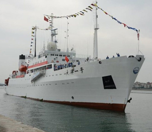 Pakistan Naval Forces Receive Two Chinese Ships