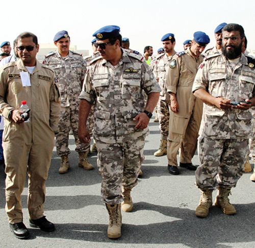 "Qatari Air Forces Conduct ""Stricken Plane"" Military Exercise"
