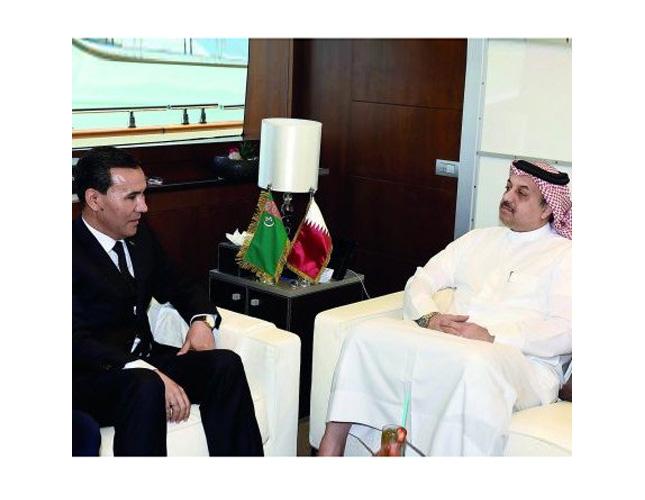 Turkmenistan Defense Delegation Visits Qatar, UAE