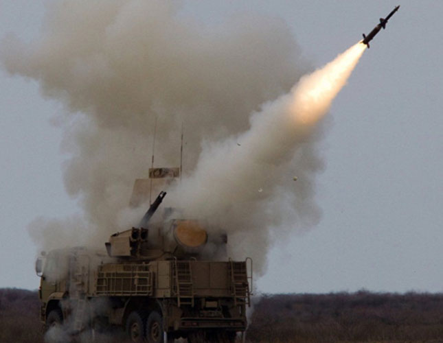 Russia Tests Short-Range Antimissile System