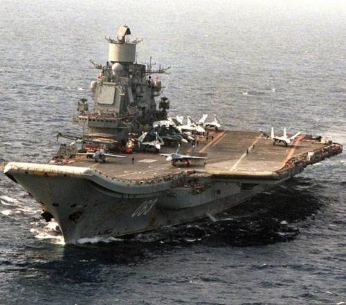 Russia to Modernize Admiral Kuznetsov Aircraft Carrier