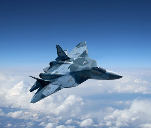 Su T-50 PAK-FA Russian 5th Generation Fighter