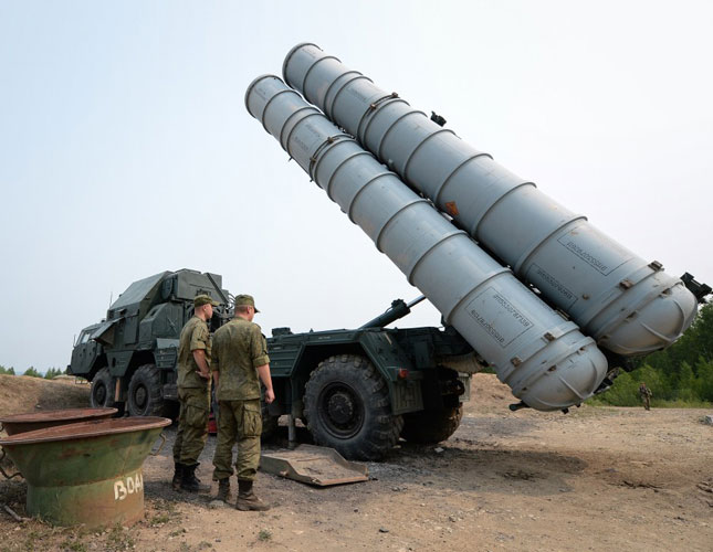Iran Deploys Russian S-300 Missile Defense System