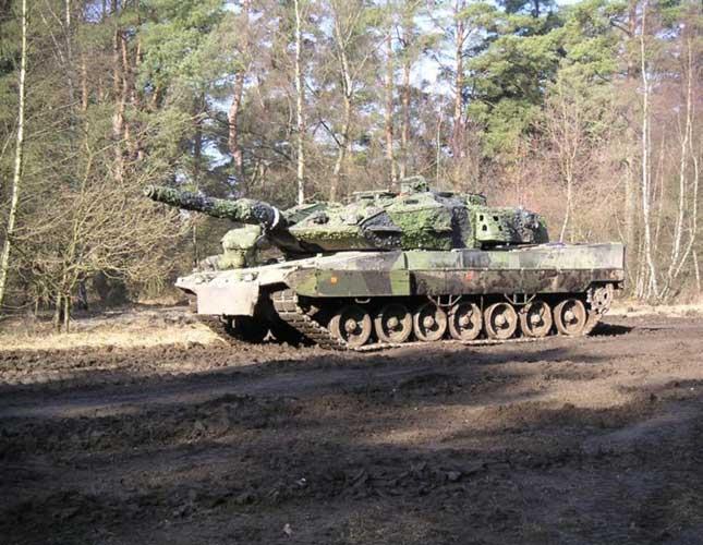 Saab Receives New Order for KMW Leopard 2 Tank
