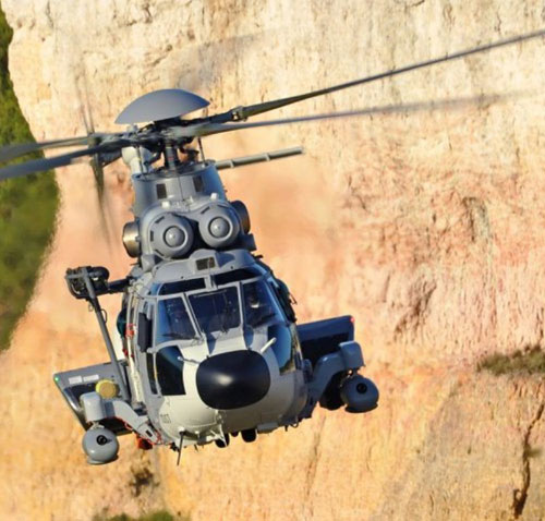 Saab Wins Self-Protection Systems Order for H225M Caracal Helicopters