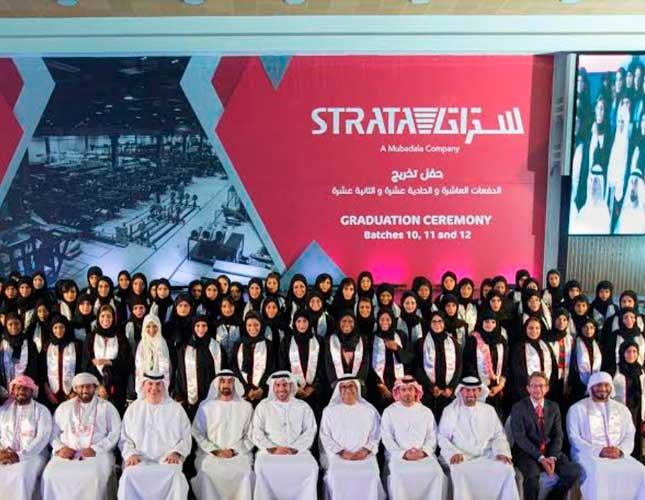 Strata's Emirati Workforce Exceeds 50%