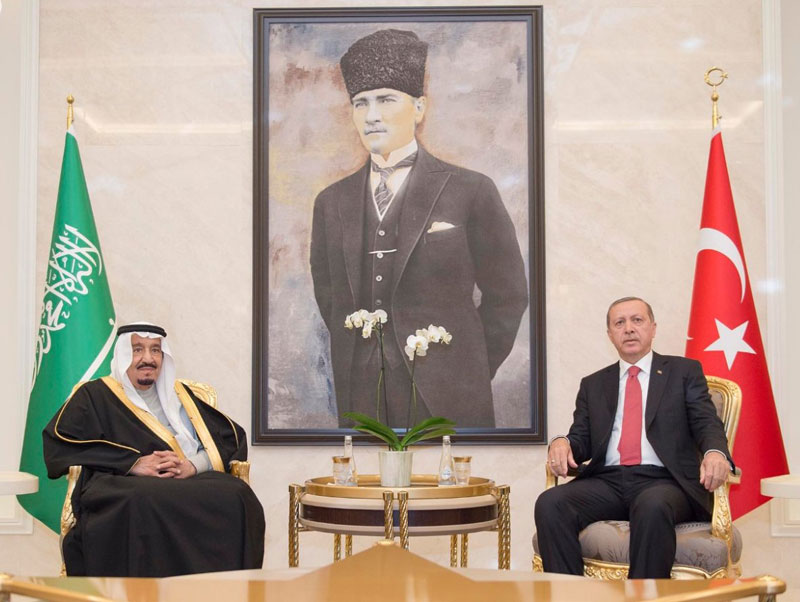 Saudi King Arrives in Turkey Following Historic Trip to Egypt