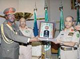 Al-Qabil Addresses Military Attaches in Saudi Arabia