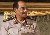 Egypt's Defense Minister Visits Tahrir Square