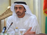 Sheikh Abdullah Visits UAE Forces in Afghanistan