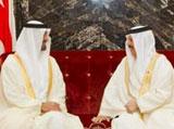 Bahrain King Receives Abu Dhabi Crown Prince