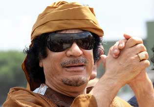 Gaddafi Slams Libya Contact Meeting