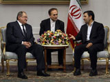Lebanese Defense Minister Visits Iran