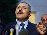 "Saleh ""has to be in Yemen"" to Cede Power"