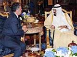 Saudi & Jordanian Kings Discuss Regional Issues