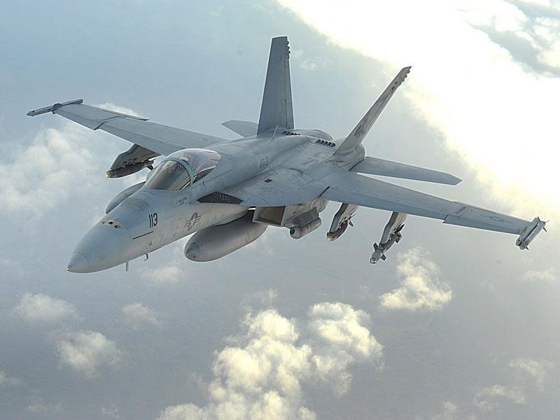 Boeing, US Navy's 1st AMC Test for Super Hornet, Growler