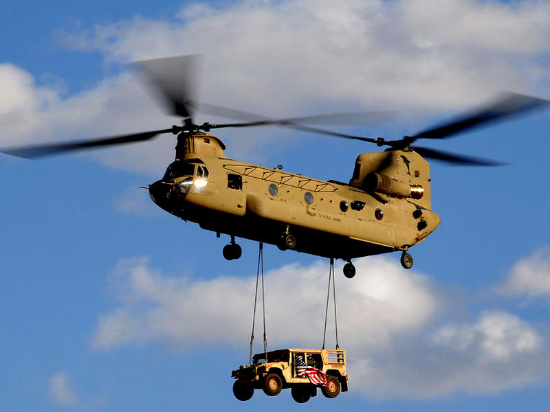 Boeing Wins PBL Contract for CH-47 Chinook Helicopters