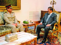 Egypt's New Defense Minister Pledges Strong Ties with the U.S.