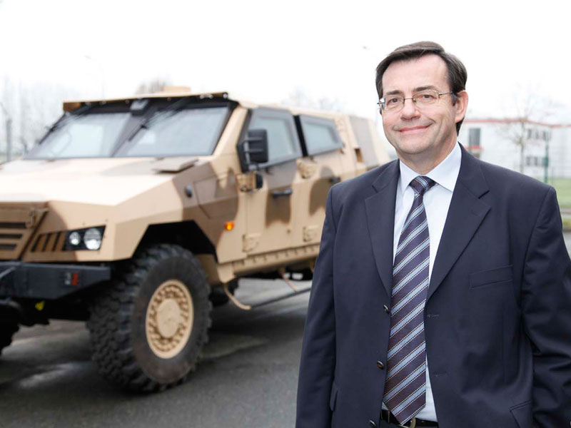Gérard Amiel Appointed CEO of Panhard Defense