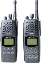 Harris' XG-25P Portable Radio for Mission-Critical Comms