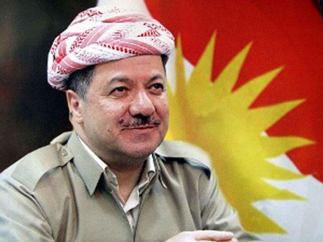 Iraq's Kurdistan President Inspects Peshmerga Security Forces