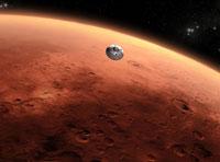 NASA's Mars Rover Curiosity Lands on Mars Planet