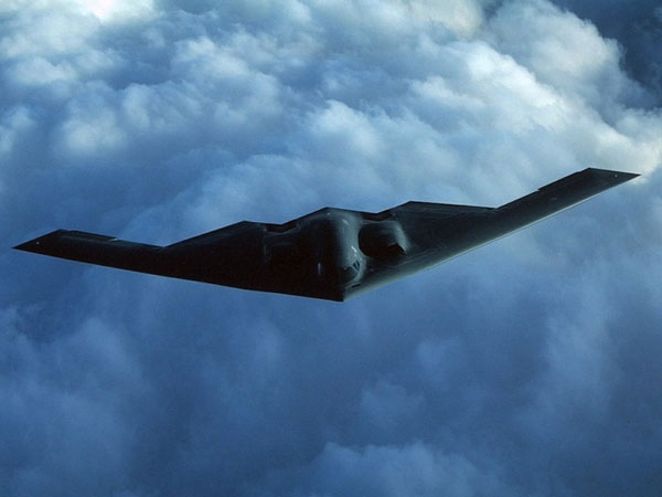 NGC Starts Producing EHF SatCom System for B-2 Bomber