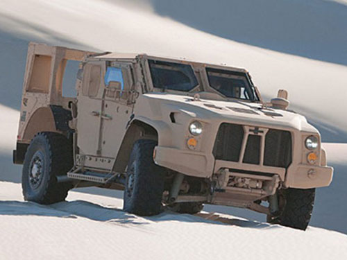 Oshkosh Unveils New Special Purpose All-Terrain Vehicle