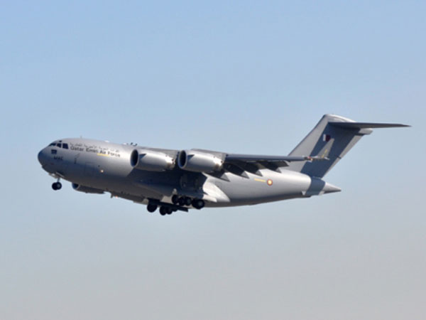 Qatar Emiri Air Force Receives 4th C-17 Globemaster III