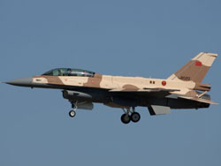 Royal Moroccan Air Force Receives Final 3 F-16s