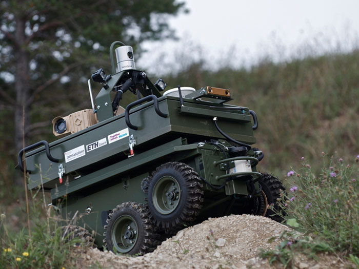 RUAG Presents 2 Unmanned Vehicle Projects