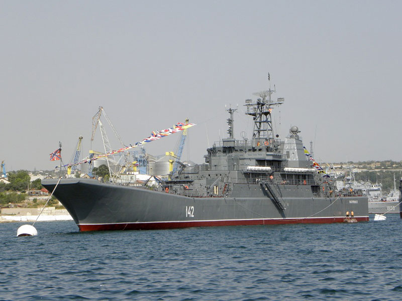 Russia Sends Another Ship to Syria's Tartus Port