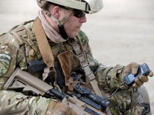 Saab Reveals Soldier C2 & Personal Radio Integration