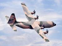 Test Flight for New Omani C-130J Super Hercules