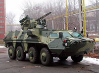 Ukraine Ready to Send 62 Armored Vehicles to Iraq