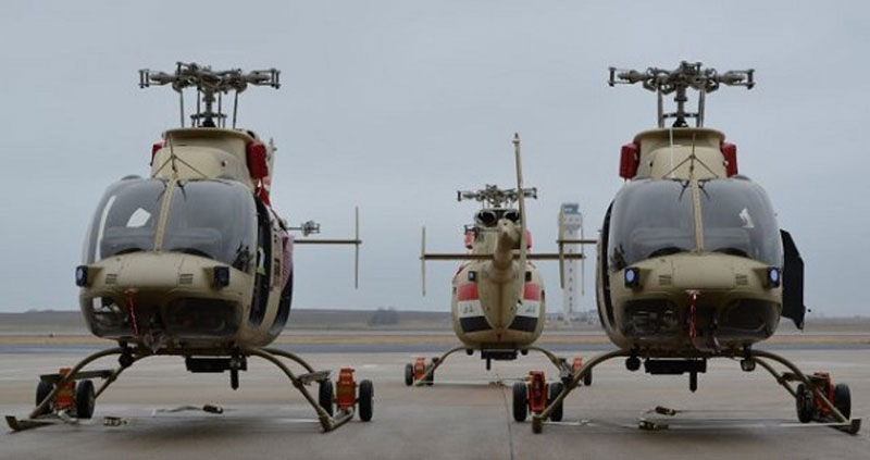 3 Bell 407 Scout Helicopters Delivered to Iraq