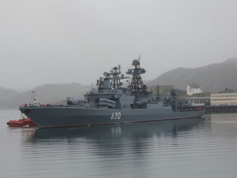 3 Russian Ships Head to Tartus Port in Syria