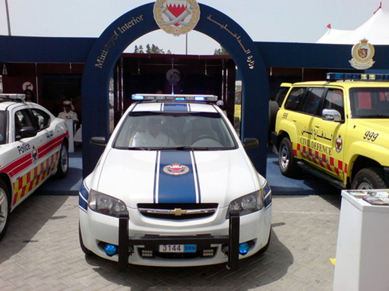 Bahrain Rolls Out Firebomb-Proof Police Cars