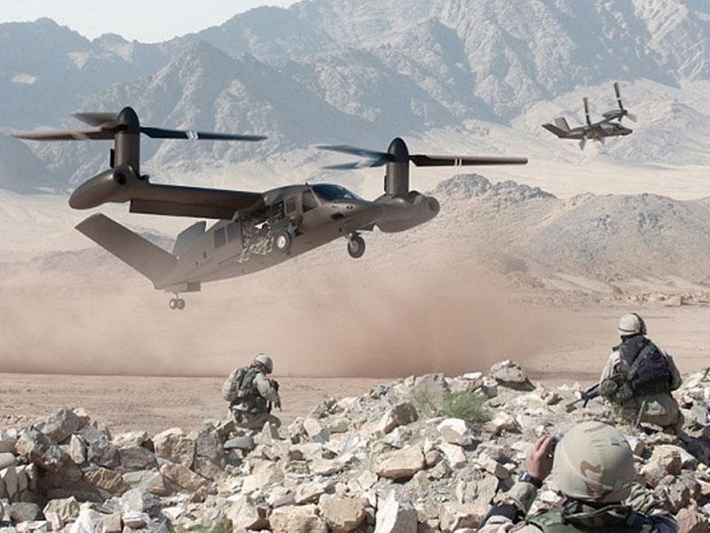 Bell Helicopter Unveils the Bell V-280 Valor Tiltrotor