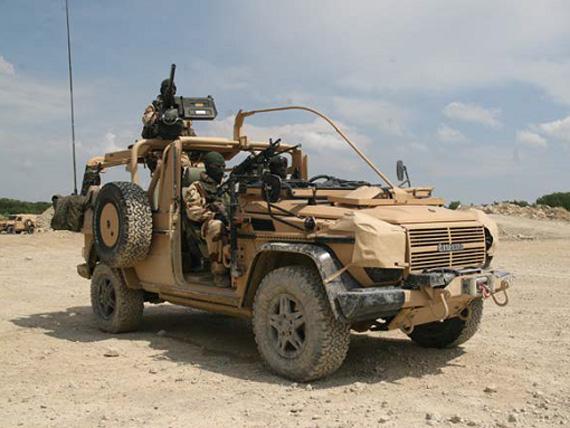 Improvements of SAS Patrol Vehicles
